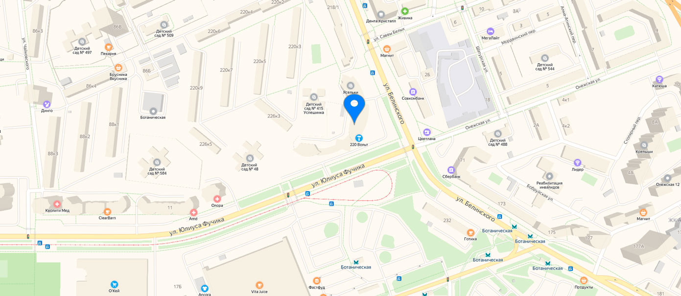 Карта РА Колибри