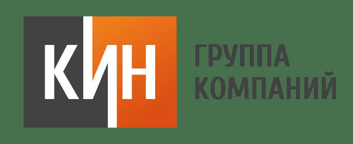 Разработка логотипа в Екатеринбурге, логотип для компании КИН